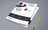 """Unternehmensidentität Vorlage namens """"We Create For Brand Flyer PSD"""" Großer Screenshot"""