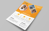 "Template di Identità Aziendale #76612 ""Creative Studio Work Flyer PSD"""