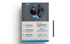 For Your Business Flyer Templates PSD Corporate Identity Template Big Screenshot