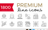 Becris - Premium Line Icons Bundle