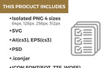 Becris Premium Line Icons Bundle