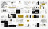 """Aleinus - Creative Minimal Presentation"" modèle PowerPoint"