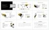 """""""Aleinus - Creative Minimal Presentation"""" modèle PowerPoint  Grande capture d'écran"""