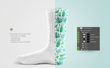 Socks Product Mockup