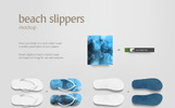 Beach Slippers Product Mockup