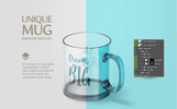 Glass Mug Animated Product Mockup