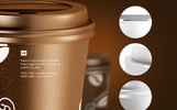 Small Coffee Cup Animated Product Mockup