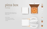 Pizza Box - Product Mockup