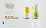 Food & Drinks Packaging Mockup Set Bundle