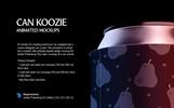 Can Koozie Animated Product Mockup