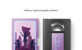 VHS Cassette Mockups Set Mockup de Produto №73987