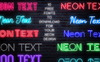 Neon Text Layer Styles & Extras Bundle Big Screenshot