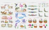 Cute Animals -  Watercolor Collection Bundle