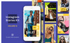 "Soziale Medien namens ""Instagram Stories Kit (Vol.9)"" Großer Screenshot"