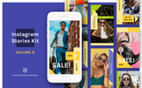 "Soziale Medien namens ""Instagram Stories Kit (Vol.9)"""