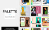 Palette Social Media Kit Social Media Big Screenshot