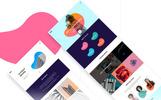 Plantilla PSD para Sitio de Diseño y Fotografía