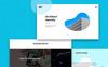 Plantilla PSD para Sitio de Diseño y Fotografía Captura de Pantalla Grande