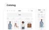 Shila Ecommerce PSD sablon Nagy méretű képernyőkép