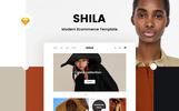 """Sketch-Vorlage namens """"Shila Ecommerce"""""""