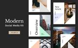 """""""Modern Social Media Kit (Vol. 22)"""" Social Media"""