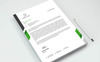 Simple Letterhead Corporate Identity Template Big Screenshot