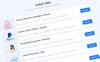 Responsywny szablon strony www JobsLab - Job Board #80213 Duży zrzut ekranu
