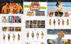 Coxes - Underwear Shopify Theme Big Screenshot