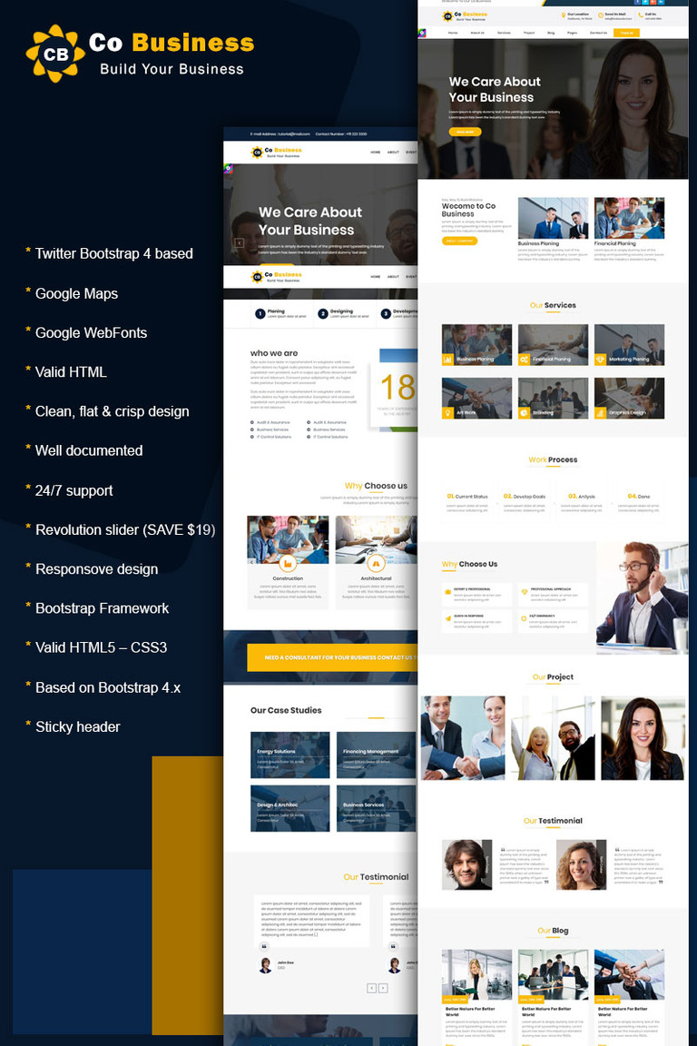 Co business corporate business html5 bootstrap 4 website co business corporate business html5 bootstrap 4 website template big screenshot flashek Choice Image