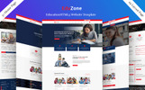 Eduzone Landing Page Template