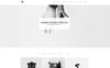 Warrior-Minimal Portfolio & Gallery Website Template Big Screenshot