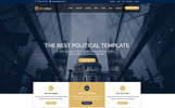 Responsywny szablon Landing Page Minister-Political & Multipurpose Responsive #75494