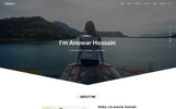 """Landing Page Template namens """"Fighter Personal Portfolio HTML5"""""""