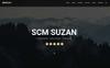 "Landing Page Template namens ""Msuzan - Personal"" Großer Screenshot"