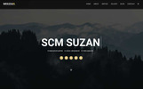 """Landing Page Template namens """"Msuzan - Personal"""""""