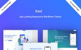 Xavi - App Landing WordPress Theme