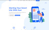 Xavi - App Landing WordPress Theme Big Screenshot