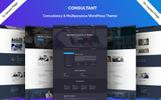 Consultant - Multipurpose HTML5 Templates de Landing Page  №76832