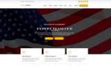 "Tema WordPress Responsive #77034 ""Lidership Political & Multipurpose"""