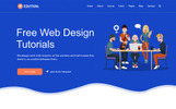 Responsivt Edution - Education & Learning Website Template Hemsidemall