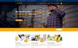 "Template di Landing Page Responsive #78400 ""Contructor-Construction & Building"""