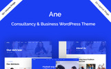 """Ane-Business & Consulting"" thème WordPress adaptatif"