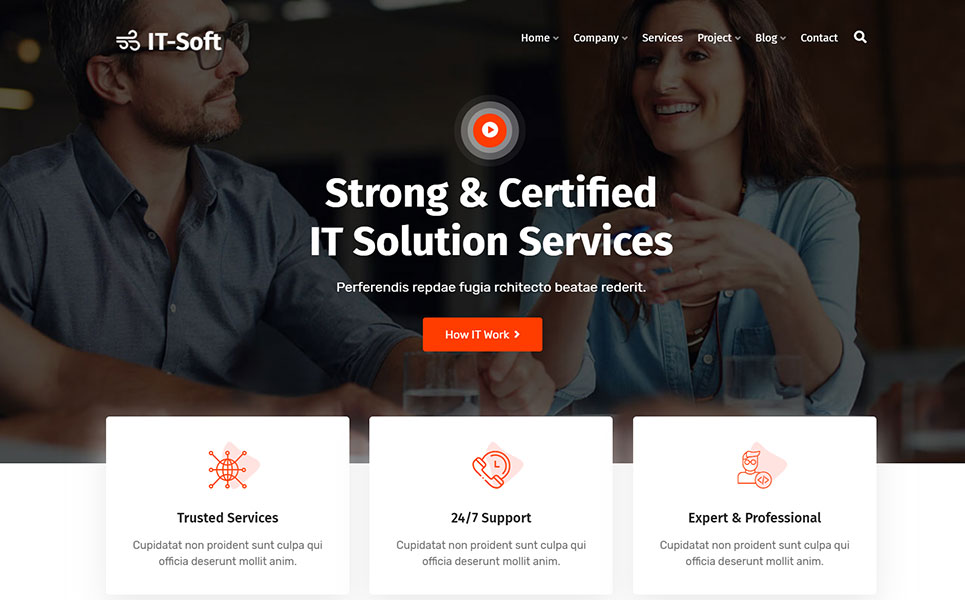 ItSoft-IT Solution & Business Services WordPress Theme
