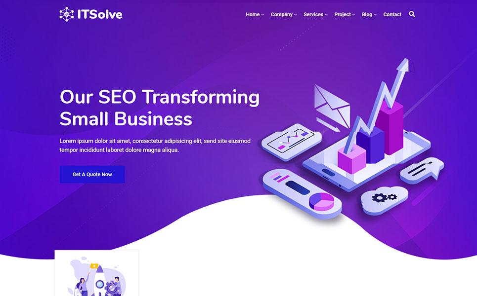 IT-Solve IT Solution & Multipurpose WordPress Theme