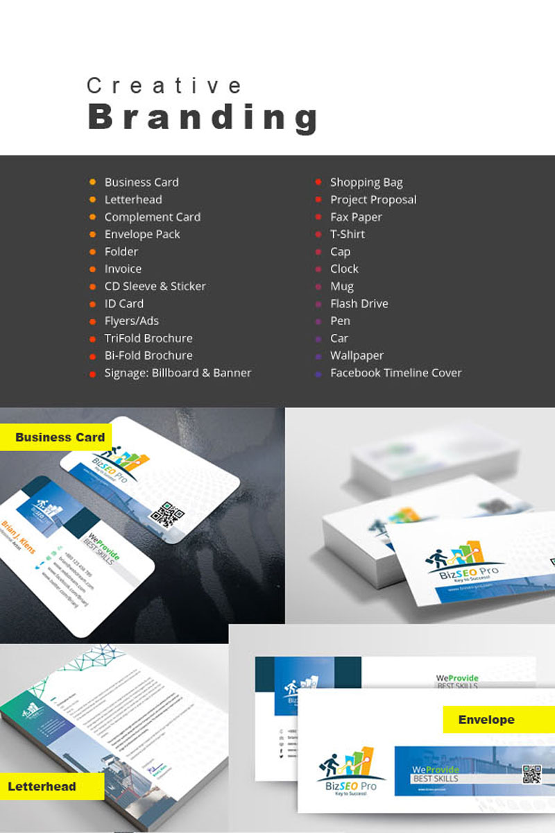 Creative Stationery Branding Pack Corporate Identity Template #68834