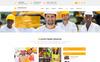 Responsivt Construction - Construction & Building PSD-mall En stor skärmdump