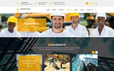 Construction - Construction & Building PSD Template