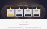 BITCOIN - Cryptocurrency & Bitcoin PSD Template