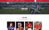 Football Champion - Sports PSD Template Big Screenshot