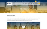 Responsivt Reflex - Corporate Business and Agency PSD-mall